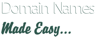 domain names made easy